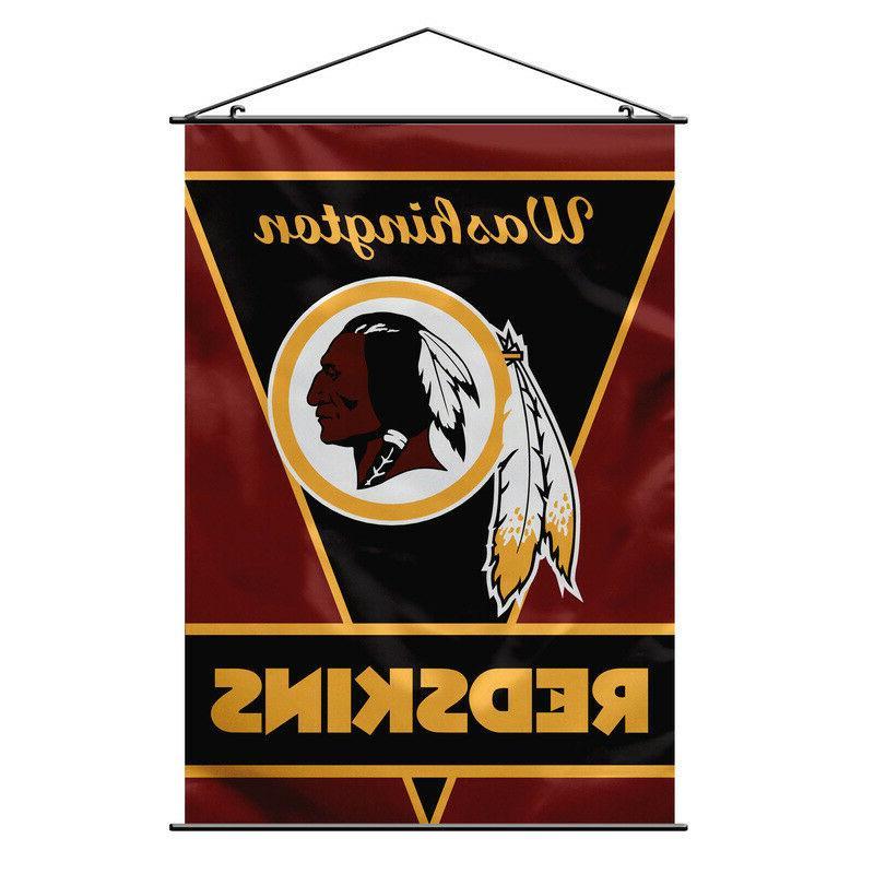washington redskins nfl football fabric wall scroll