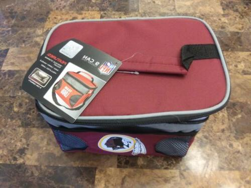 Washington Redskins NFL Insulated Lunch Tote Easy NWT!