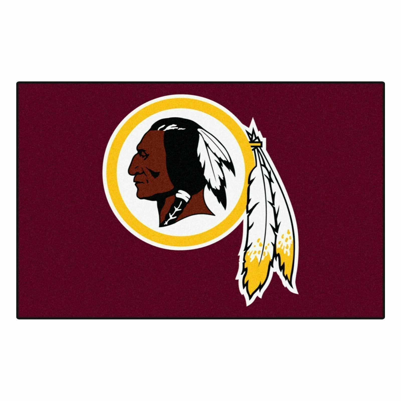 Washington Redskins Area Rug Indoor Mat
