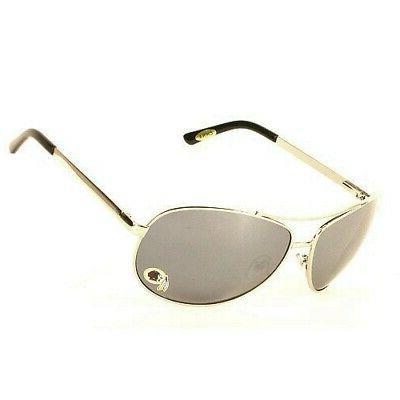 washington redskins silver mirrored aviator sunglasses from