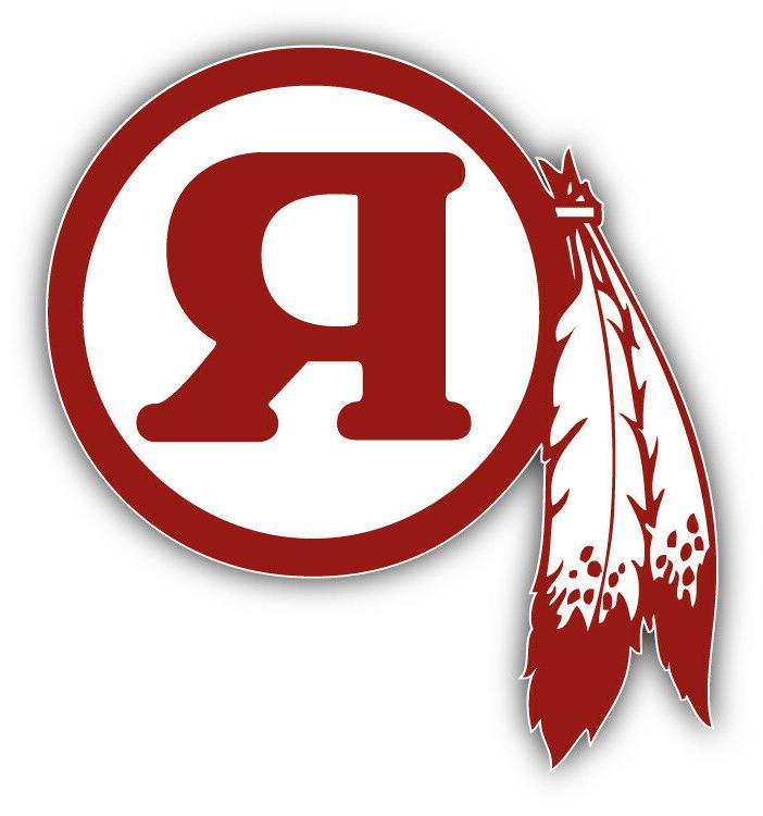 washington redskins symbol logo car bumper sticker