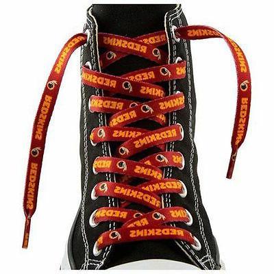 """Washington Redskins Team Logo Colors 54"""" Shoe Laces One Pair"""