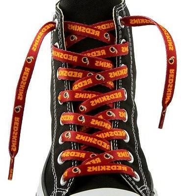 washington redskins team shoe laces 54 laceups