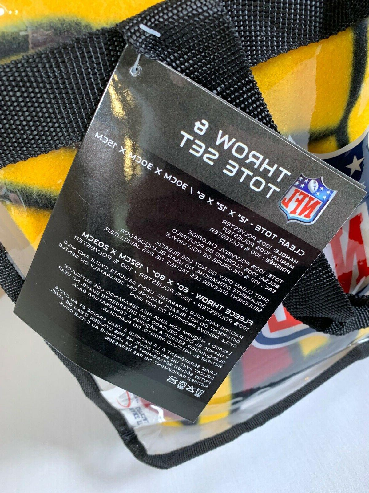 "WASHINGTON REDSKINS AND TOTE SET NFL 60"" 80"""