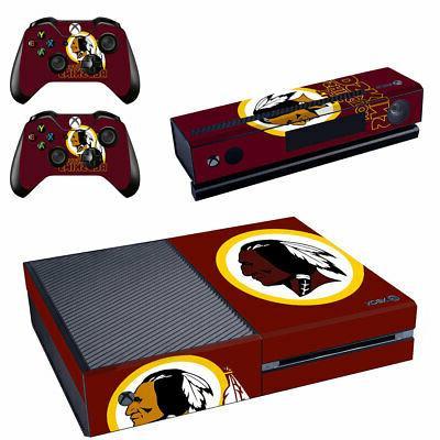 Washington Redskins XBOX ONE Skin Sticker Decal Vinyl Consol