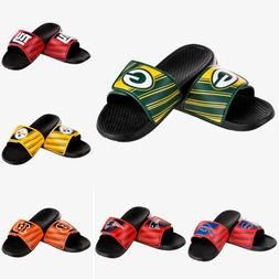 Mens NFL Football Legacy Sport Slide Sandals Flip Flops - Ch