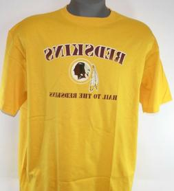 Mens NFL Team Apparel Washington Redskins Short Sleeve Logo