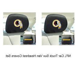 New 2pc NFL Washington Redskins Automotive Gear Car Truck He