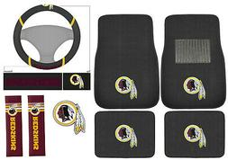New 8pc Set NFL Washington Redskins Car Truck Floor Mats Ste