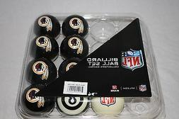 NEW Licensed NFL Washington Redskins Football Billiard Pool