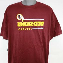 NEW Mens MAJESTIC Washington Redskins Line Of Scrimmage B&T