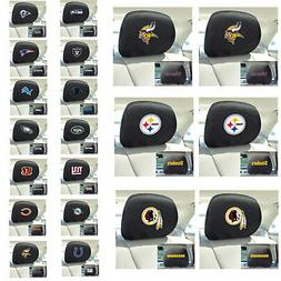 New NFL Pick Your Teams Automotive Gear Car Truck Headrest C