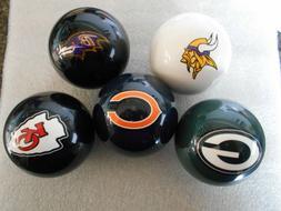 New!  NFL Team Logo Billiard / Pool / Cue Ball- Pick Your Te