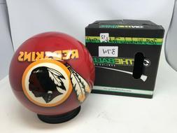 New OTB NFL Washington Redskins 12# Bowling Ball Viz-a-Ball