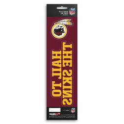 New NFL Washington Redskins Die-Cut Vinyl Slogan Decal Pack