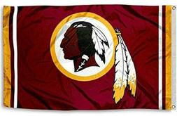 NEW Washington Redskins Flag Large 3'X5' NFL FREE SHIPPING
