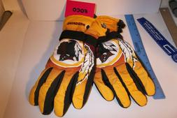 New Washington Redskins NFL Ski Winter Gloves Adult mens Siz