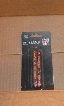 "NEW NFL Washington Redskins One Pair 54"" Shoe Laces NEW NWT"