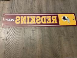 *NEW* Washington Redskins Way Street Sign NFL Football Fan D