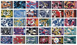 NFL Custom Starter Mat Abstract Area Rugs - Choose 32 Teams