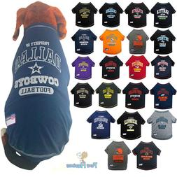 NFL Fan Gear Dog Shirt Dog Tee for Pets Dogs PICK YOUR TEAM