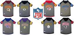 NFL football Pet Gear Dog  HOODIE T-Shirt  XS-L All Teams U