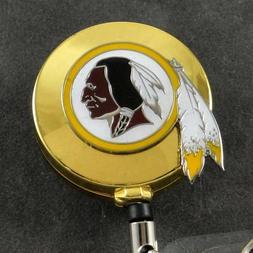 NFL Football Washington Redskins Sports Retractable Badge Re