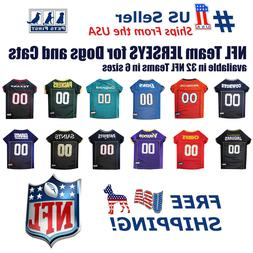 Pets First NFL Jersey for DOGS & CATS - Licensed, available
