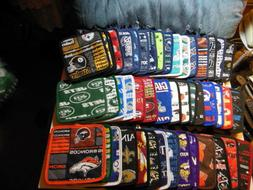 "NFL logo Potholders in all football team fabrics, 8""x 8"" - N"