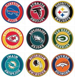 Fanmats NFL Roundel Mat Round Area Rugs - Choose Team