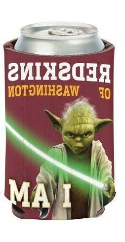 NFL Star Wars Yoda 12 ounce Can Coozie