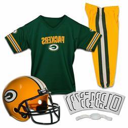 NFL Team Youth Uniforms Set Helmet Logo Pants Shirt Iron On