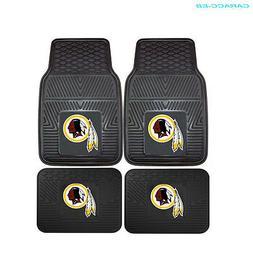 NFL - Washington Redskins Heavy Duty 2-Piece Vinyl Car Mats