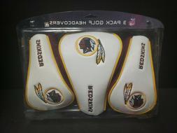NFL Washington Redskins 3 Pack Golf Club Headcovers X 1 3 Te