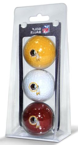 NFL Washington Redskins 3-Pack Golf Balls