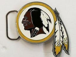 NFL Washington Redskins Belt Buckle, New