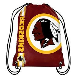 NFL Washington Redskins Big Logo Drawstring Backpack