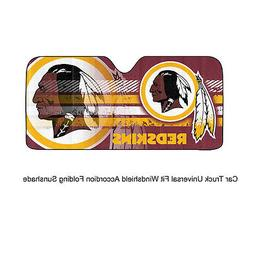 NFL Washington Redskins Car Truck Front Windshield Accordion