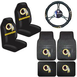 NFL Washington Redskins Car Truck Seat Covers Floor Mats & S