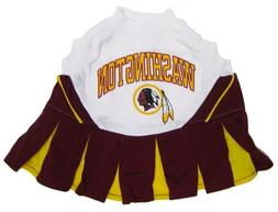NFL Washington Redskins Cheerleader Pet Dress, Small Fits 8-