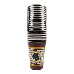 NFL Washington Redskins Disposable Paper Cups