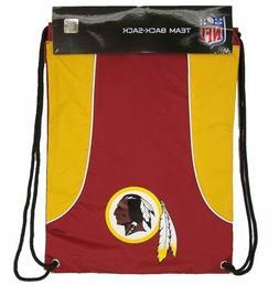 NFL Washington Redskins Drawstring Back Pack Back-Sack Backp
