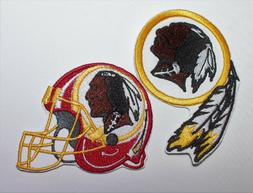 nfl washington redskins embroidered patches iron on
