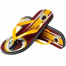 NFL Washington Redskins Gradient Flip Flops Beach Sandals NE