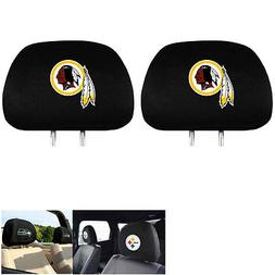 NFL Washington Redskins Head Rest Covers, 2-Pack