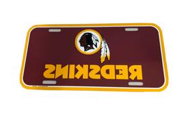 nfl washington redskins license plate football decor