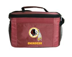 NFL Washington Redskins Lunch Bag - Insulated Box Tote - 6-P