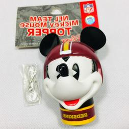 NFL Washington Redskins Mickey Mouse Antenna Topper New Pack