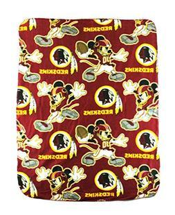 The Northwest Company NFL Washington Redskins Mickey Mouse C