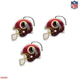 NFL Washington Redskins Paper Hanging Air Freshener 3 pack O